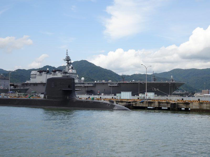 広島・呉「艦船巡り」に行ってみた!護衛艦や潜水艦が、ガイド付きで楽しめる!